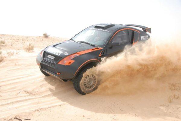 Mc-Rae Enduro Tunisia car