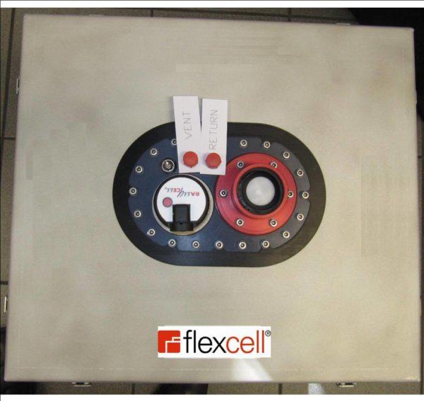 fittings flexible fuel tank embedded