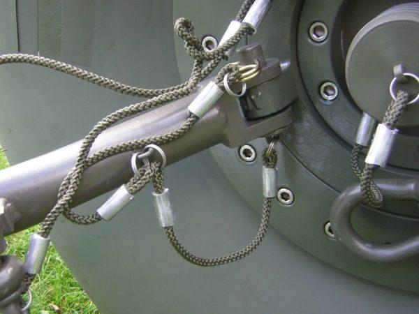 Fork tank - towable fuel tank