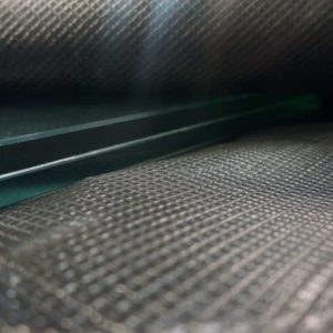 vacuum bag lamination with anti pollution system