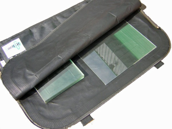 vacuum bag system for glass military bulletproof