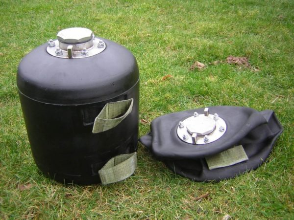 towable fuel bladder high resistance