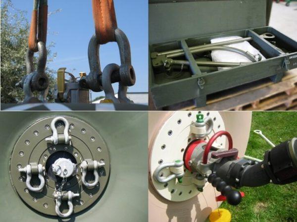 towable transportable fuel tanks
