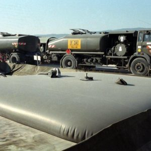 Storage fuel tanks - logistics military