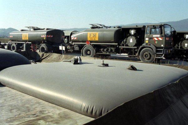 Storage fuel tanks - logistics military