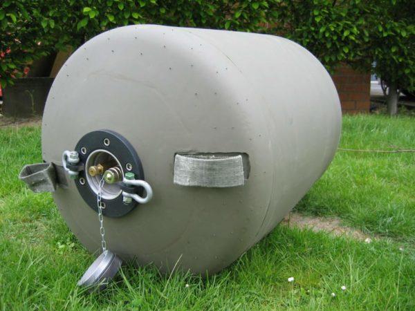 flexible aero portable fuel tank