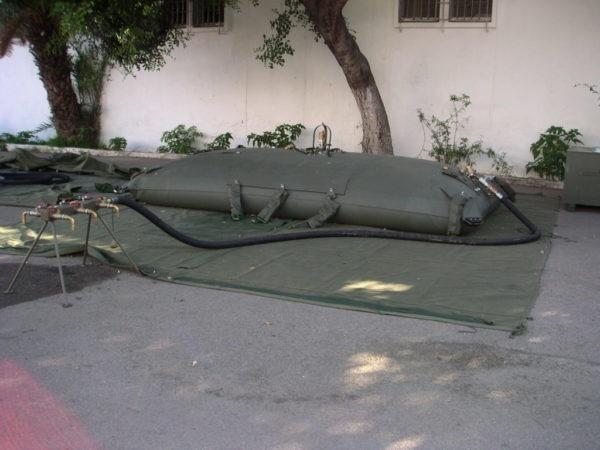 Transport fuel flexible tank
