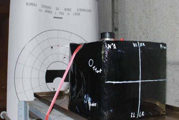 Trials shooting tank soft board application military
