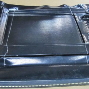 Vacuum bag lamination process for glass windshield