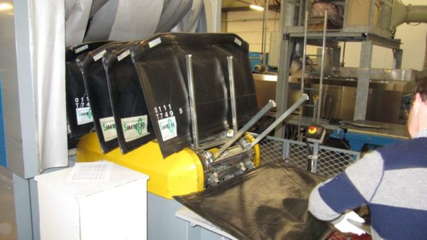 Vacuum bag lamination process