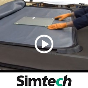 Video : Laminating vacuum bag for furnace - OBR