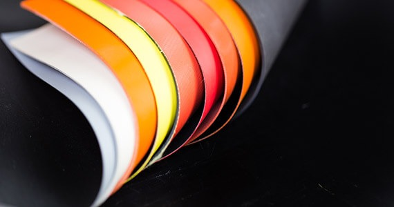 Sheet fabric coating calendering rubber